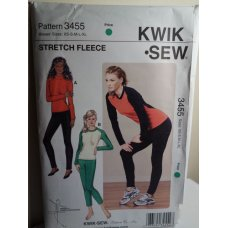 KWIK SEW Sewing Pattern 3455