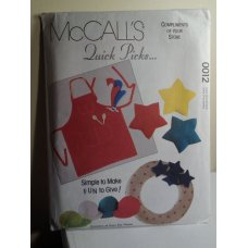McCalls Sewing Pattern 0012