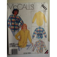 McCalls Sewing Pattern 2417