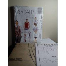 McCalls Sewing Pattern 2447