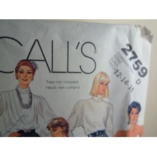 McCalls Sewing Pattern 2759