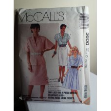 McCalls Sewing Pattern 3600