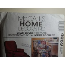 McCalls Sewing Pattern 4069