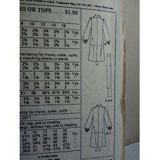 McCalls Sewing Pattern 4866