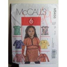 McCalls Sewing Pattern 5456