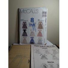 McCalls Sewing Pattern 7541
