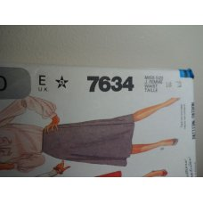 McCalls Sewing Pattern 7634