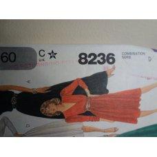 McCalls Sewing Pattern 8236