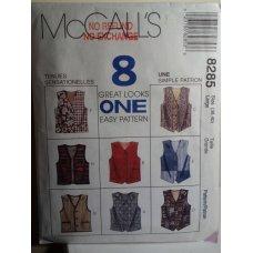 McCalls Sewing Pattern 8285