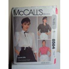 McCalls Sewing Pattern 8584