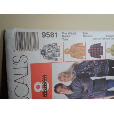 McCalls Sewing Pattern 9581