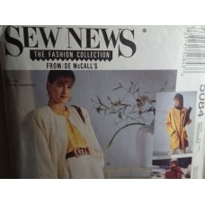 McCalls Sew News Sewing Pattern 5084