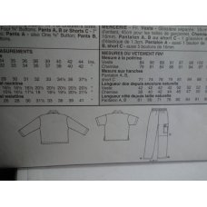 McCalls Sewing Pattern 2087