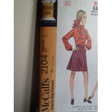 McCalls Sewing Pattern 2104