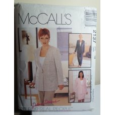 McCalls Sewing Pattern 2137