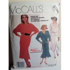 McCalls Sewing Pattern 2155