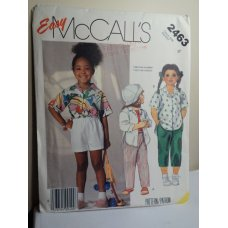 McCalls Sewing Pattern 2463
