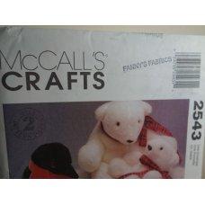 McCalls Sewing Pattern 2543