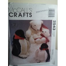 McCalls Sewing Pattern 2543