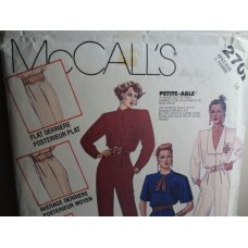 McCalls Sewing Pattern 2702