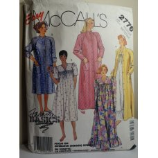 McCalls Sewing Pattern 2776