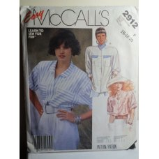 McCalls Sewing Pattern 2912