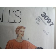 McCalls Sewing Pattern 3097