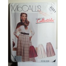 McCalls Sewing Pattern 3321