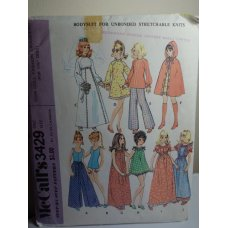 McCalls Sewing Pattern 3429