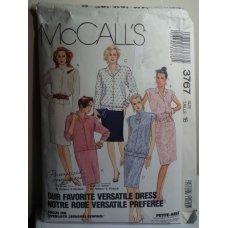 McCalls Sewing Pattern 3767