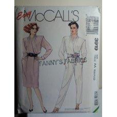McCalls Sewing Pattern 3919