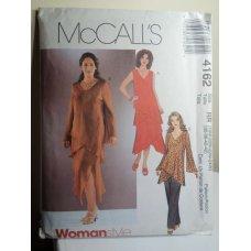 McCalls Sewing Pattern 4162