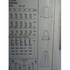 McCalls Sewing Pattern 4172