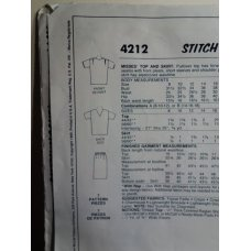 McCalls Sewing Pattern 4212