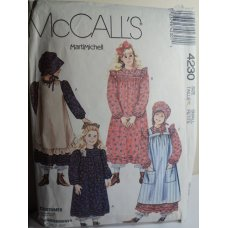 McCalls Sewing Pattern 4230