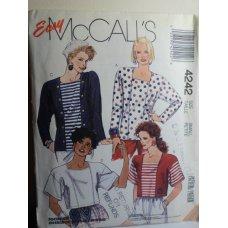 McCalls Sewing Pattern 4242