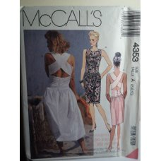 McCalls Sewing Pattern 4353