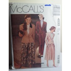 McCalls Sewing Pattern 4533