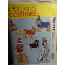 McCalls Sewing Pattern 4612