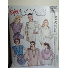 McCalls Sewing Pattern 4632