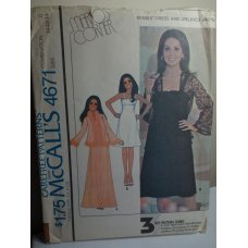 McCalls Sewing Pattern 4671