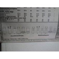 McCalls Sewing Pattern 4767