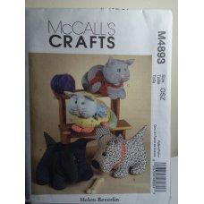 McCalls Sewing Pattern 4893