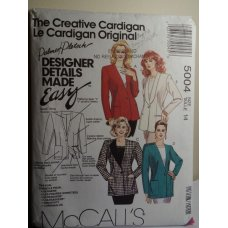 McCalls Sewing Pattern 5004