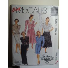McCalls Sewing Pattern 5191