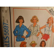 McCalls Sewing Pattern 5597