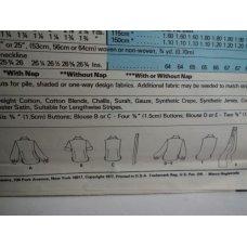 McCalls Sewing Pattern 5597