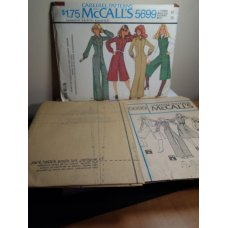McCalls Sewing Pattern 5699