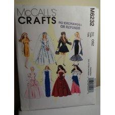 McCalls Sewing Pattern 6232