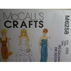 McCalls Sewing Pattern 6258